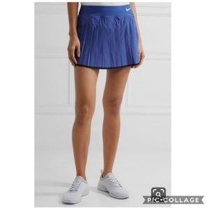 Nike Blue Court Victory Pleated Tennis Skort Skirt